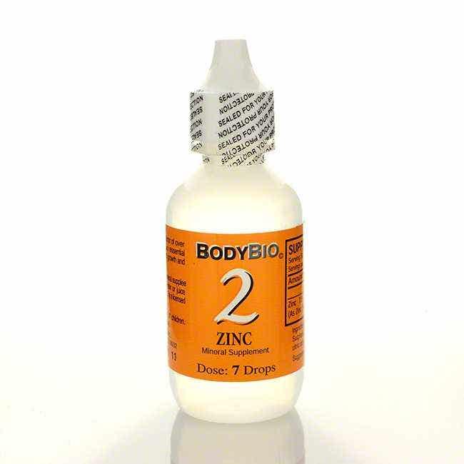 BodyBio Zinc #2 Liquid Mineral