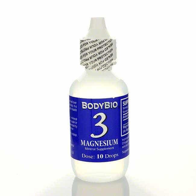 BodyBio Magnesium #3 Liquid Mineral, 2 fl oz