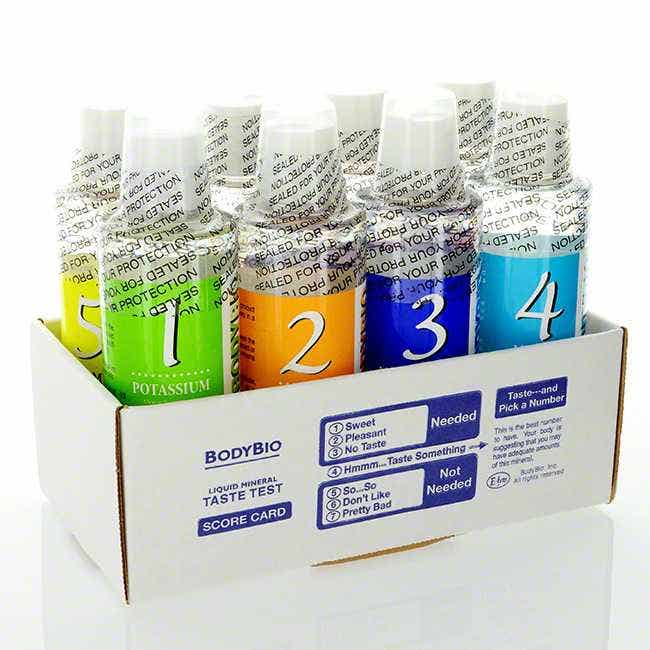 BodyBio Liquid Minerals Test Kit (MTK)