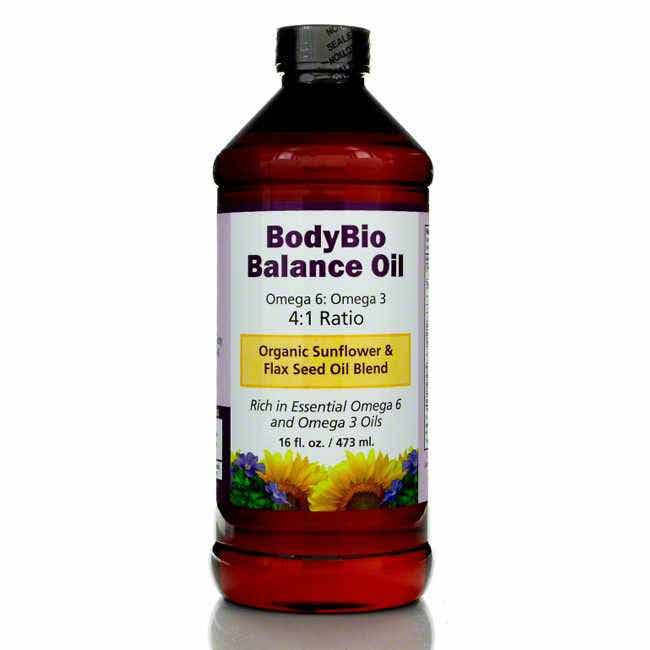 BodyBio Balance Oil, 16 fl oz/473mL
