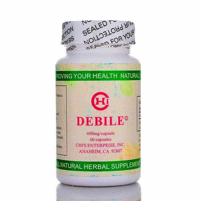 Chi's Enterprise Debile for Gallbladder Support, 60 ct
