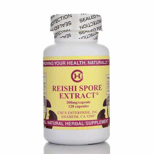 Chi's Enterprise Reishi Spore Extract, 120 count