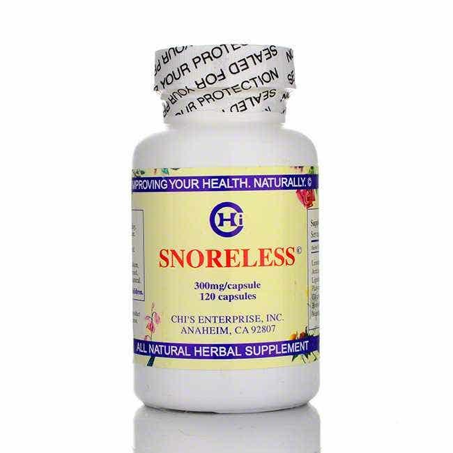 Chi's Enterprise Snoreless, 120 count