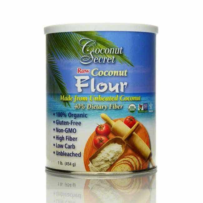 Coconut Secret Raw Coconut Flour, 16 oz