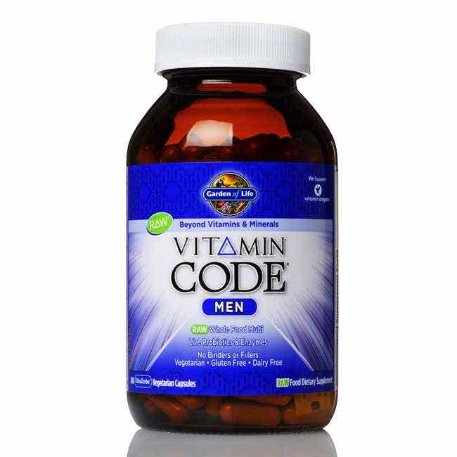 Garden Of Life Vitamin Code Men 39 S Formula 240 Ct Ebay