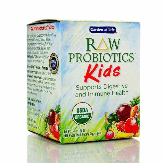 Upc 658010115698 Garden Of Life Raw Organic Probiotic Kids 96g Powder