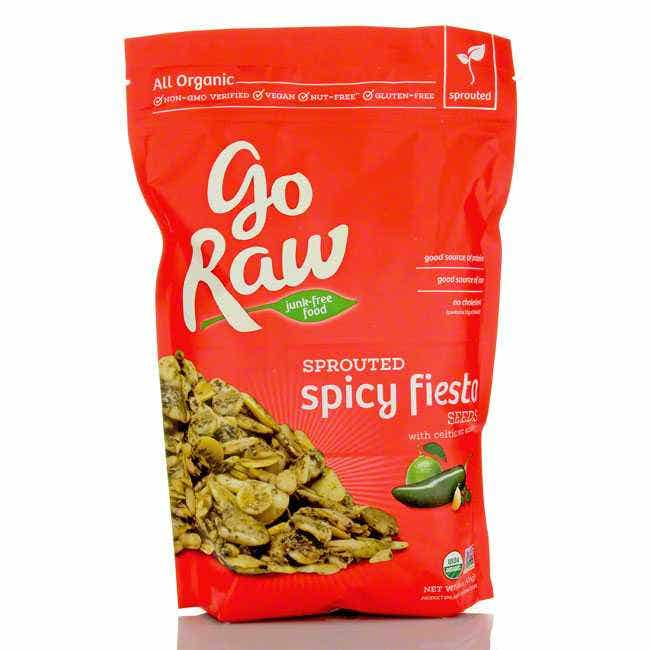 GoRaw Sprouted Spicy Fiesta Seed Mix, 16 oz