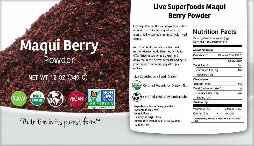 maqui berry powder how to use