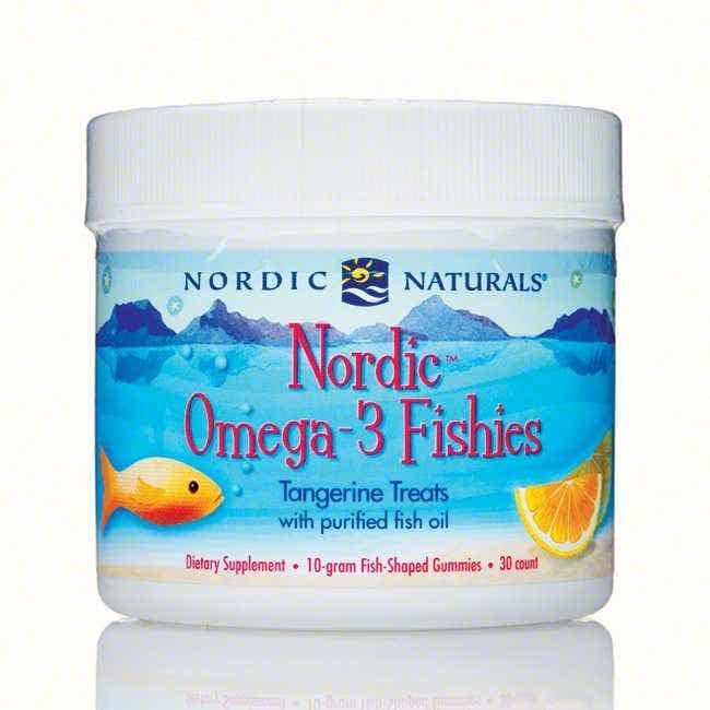 Nordic Naturals Omega-3 Fishies, 30 count