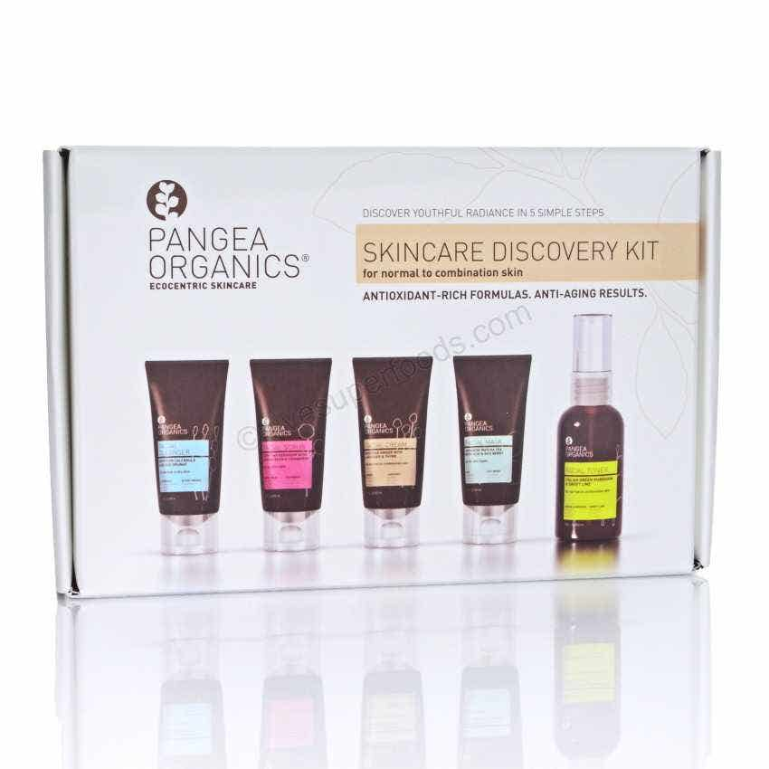 Pangea Organics Skincare Discovery Kit - normal to combo