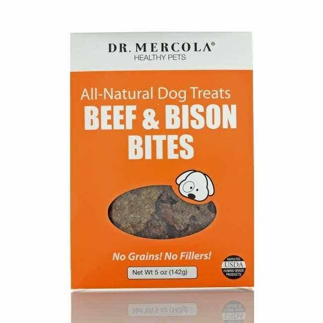Dr. Mercola Beef and Bison Bites