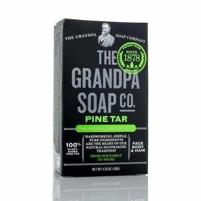 Grandpa Soap Co Pine Tar Soap