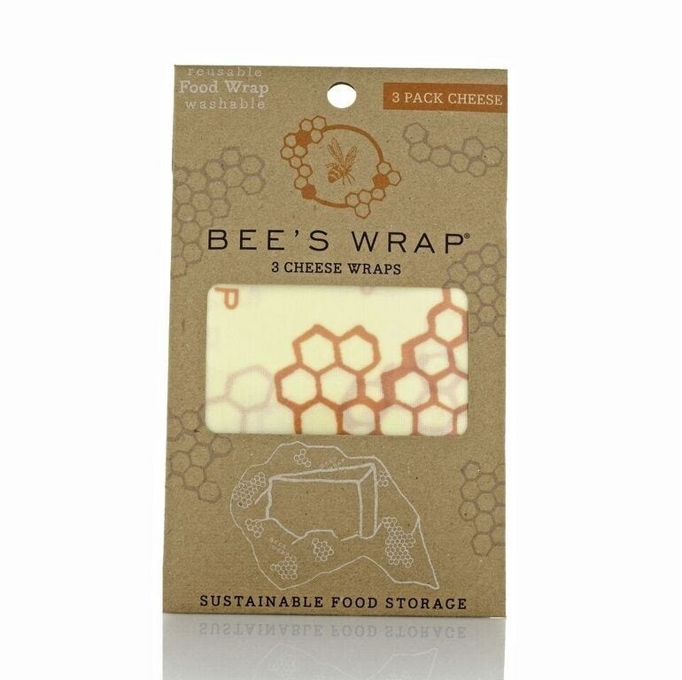 Bee's Wrap 3 Pack Cheese Wraps