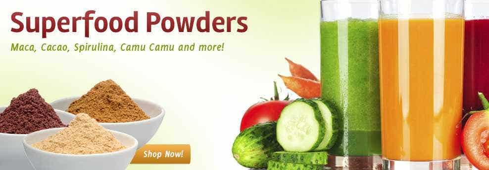 Live Superfoods Superfood Powders