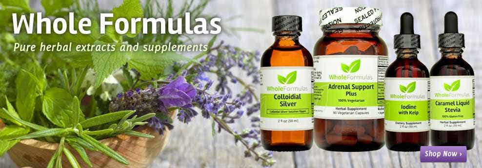 Safe Herbal Supplements from Whole Formulas