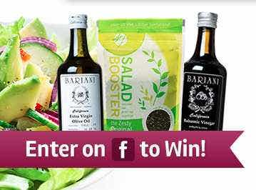 Win our Oil and Spice Giveaway